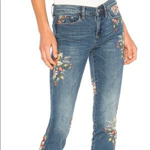 Blank NYC Embroidered Skinny Jean Green Thumb (26)